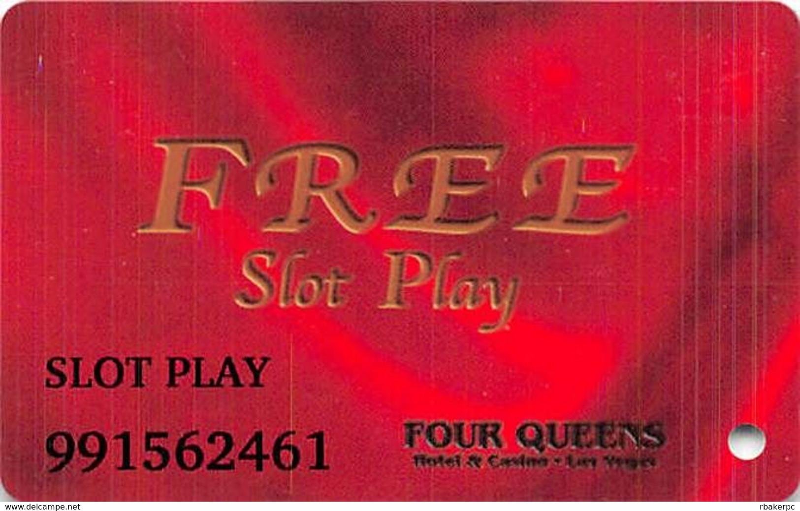 Four Queens Casino - Las Vegas, NV - Free Slot Play Card With ABLECARD.COM - Casino Cards