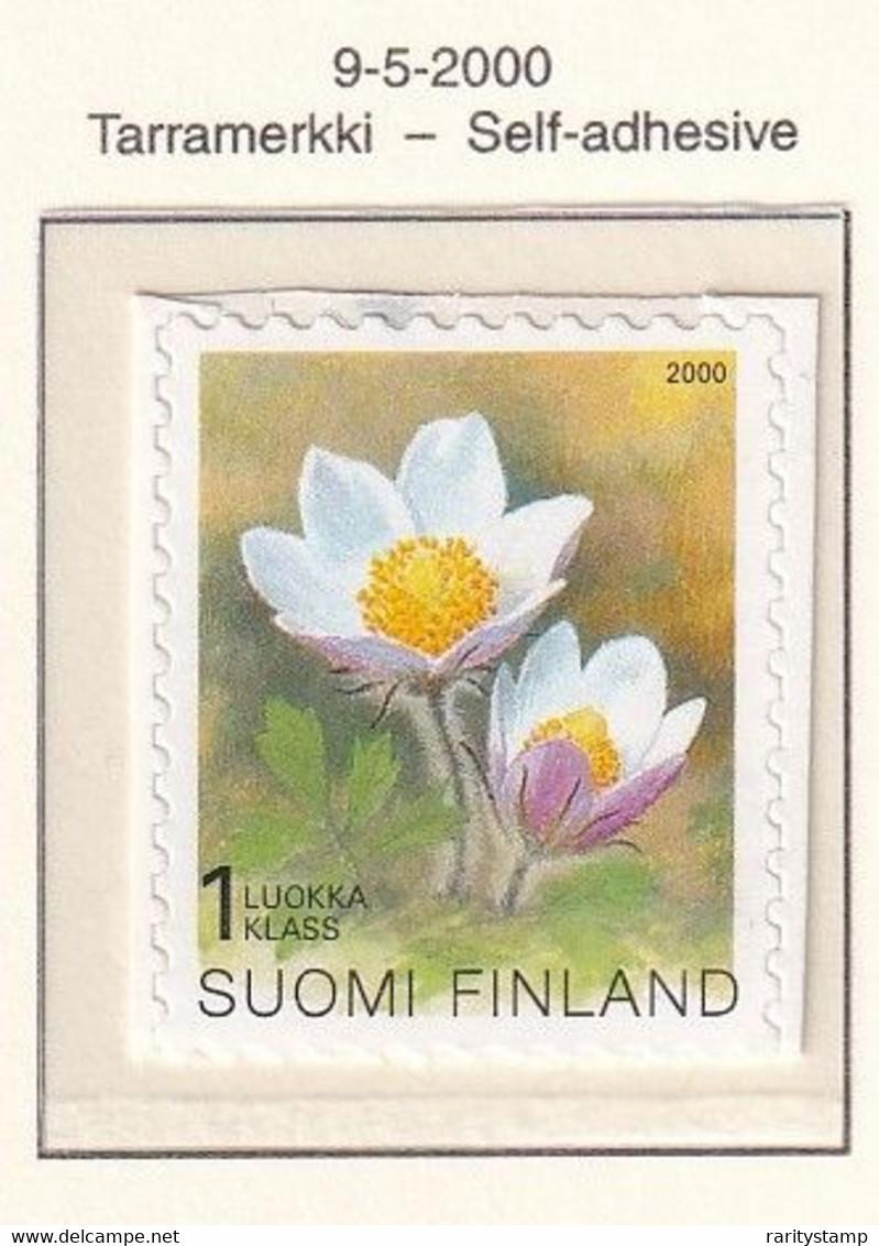 FINLANDIA 2000 PIANTE AUTOADESIVI N.1498 MNH** - Nuevos