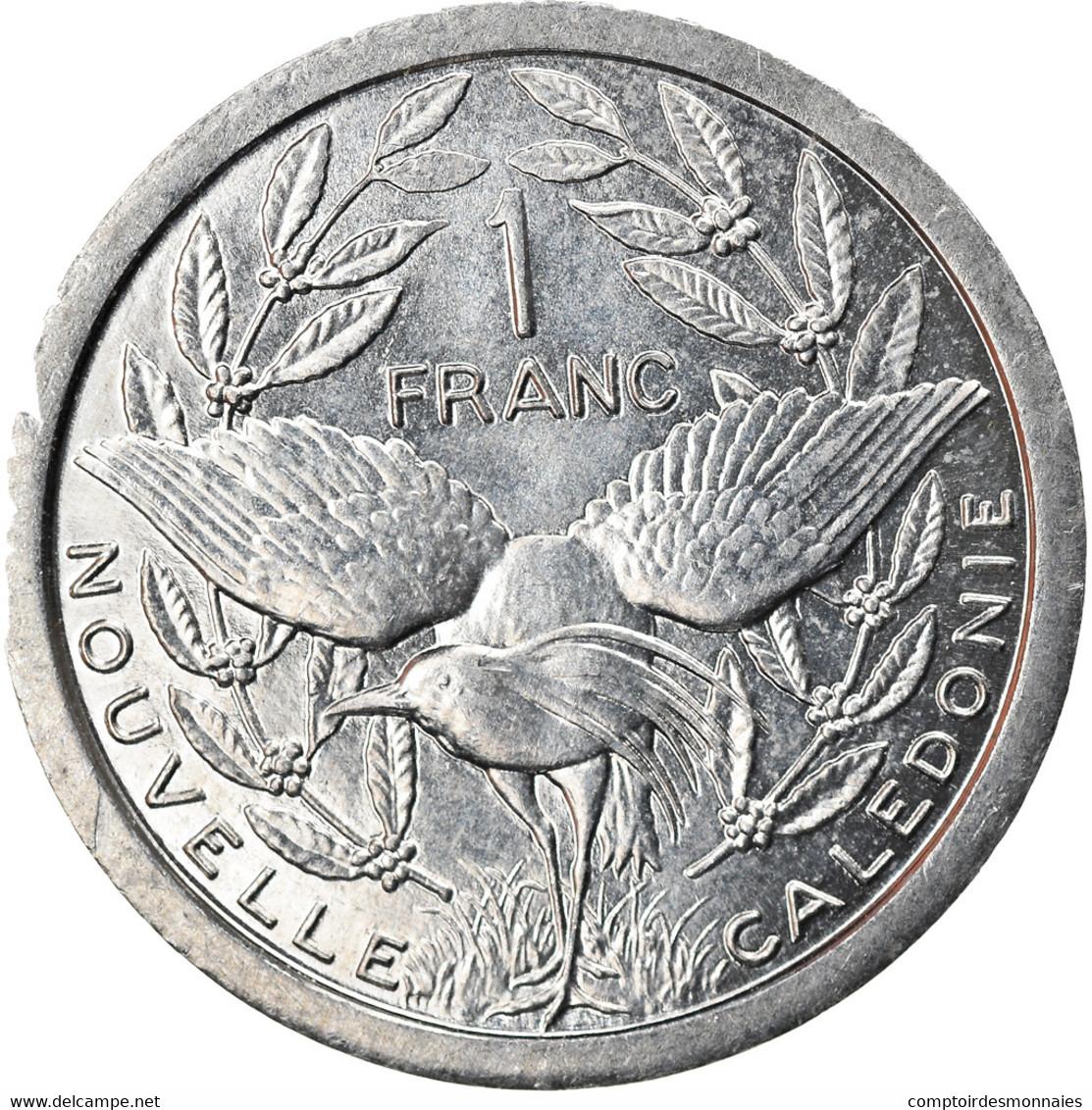 Monnaie, Nouvelle-Calédonie, Franc, 1989, Paris, SPL+, Aluminium, KM:10 - New Caledonia