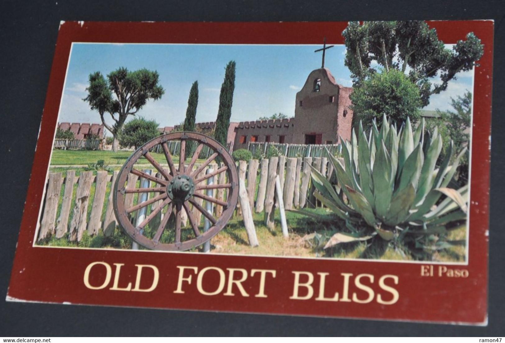 Old Fort Bliss, El Paso - El Paso