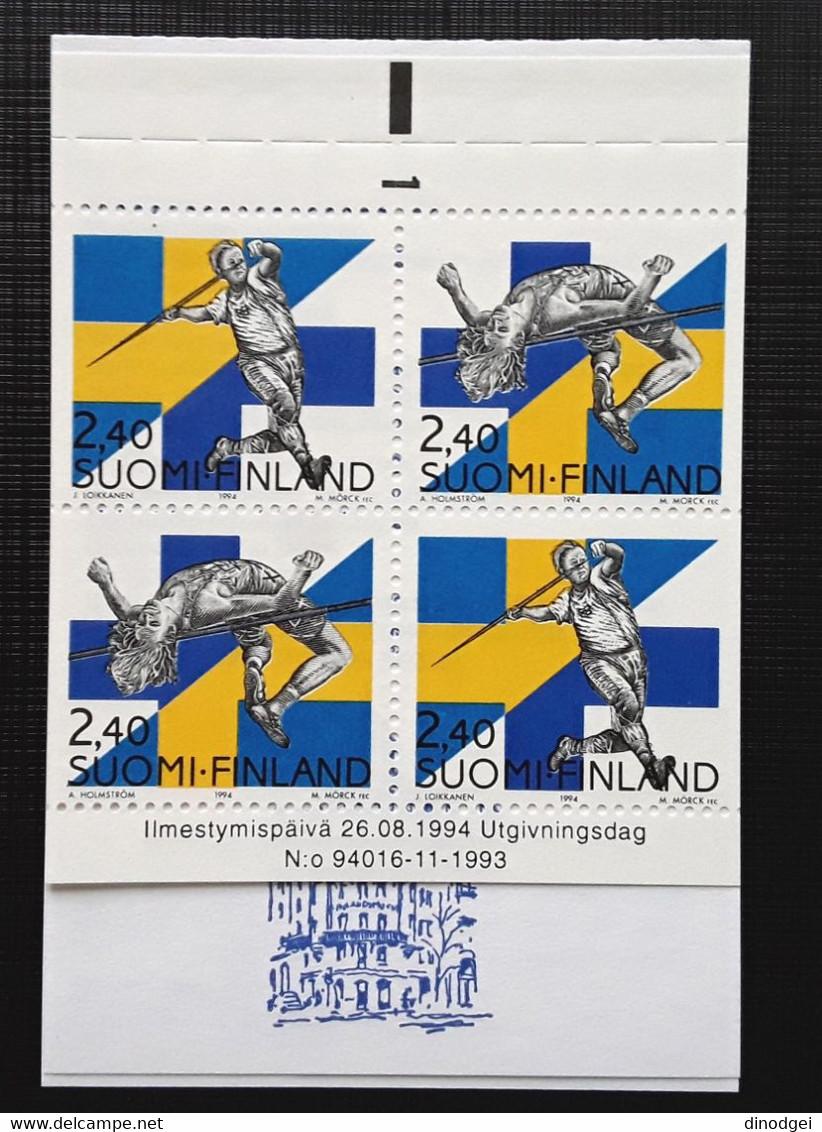 """FINLANDIA - 1994 - """" Raccolta Booklet Stamps 1994 """"   N° 4 Raccolte Vedi Descrizione Completa MNH - Nuevos"""
