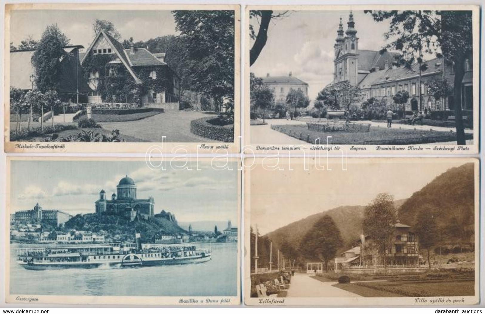 **, * 31 Db RÉGI Képeslap: Magyar és Külföldi Városok és Motívumok Vegyes Minőségben / 31 Pre-1945 Postcards In Mixed Qu - Non Classificati