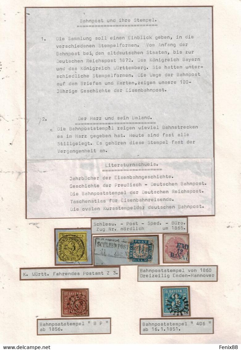 ALTDEUTSCHLAND SAMMLUNG 25 BILD - Unclassified