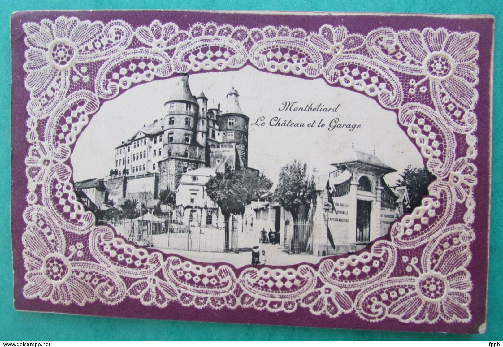 MONTBELIARD  -  Le Château Et Le Garage - Montbéliard