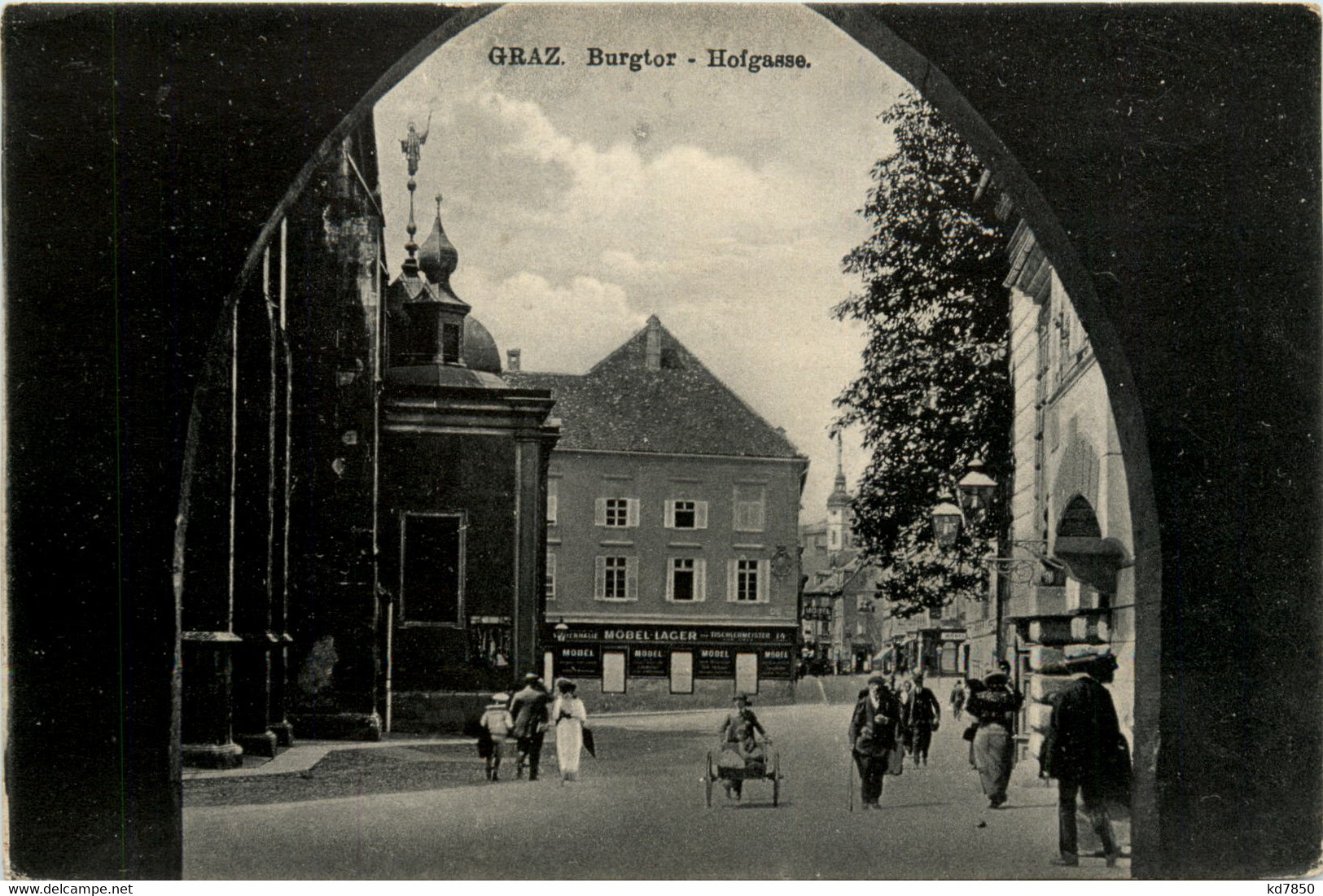 Graz/Steiermark -    Burgtor - Hofgasse - Graz