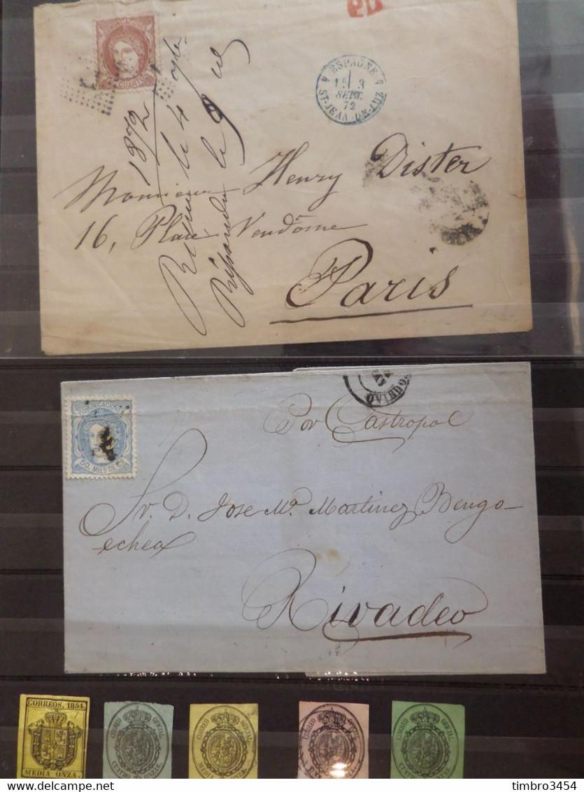 Superbe Vrac De Milliers De Timbres Tous Pays. Collections Du Monde, Anciens, Bonnes Valeurs, Cote énorme. A Saisir! - Lots & Kiloware (mixtures) - Min. 1000 Stamps