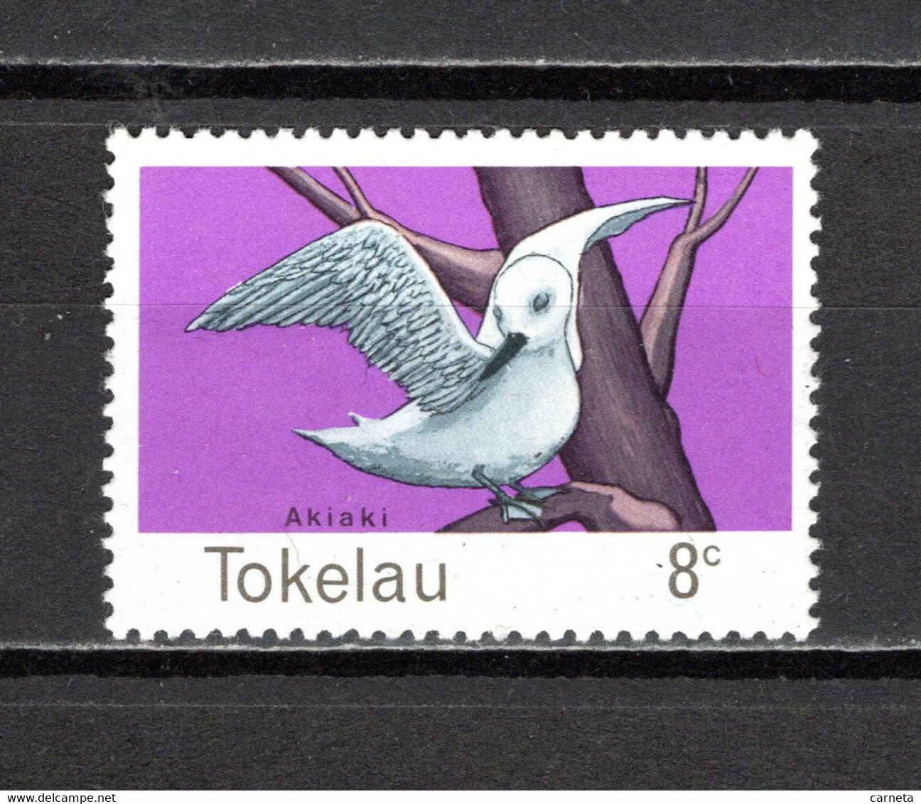 TOKELAU   N° 57   NEUF AVEC CHARNIERE   COTE  0.80€   OISEAUX ANIMAUX - Tokelau