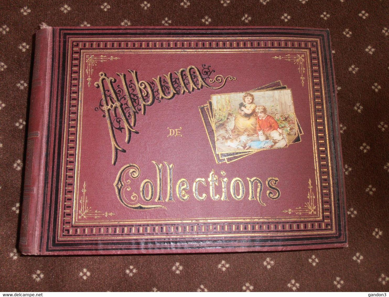 ALBUM    De    CHROMOS    Anciens  Divers - Albumes & Catálogos