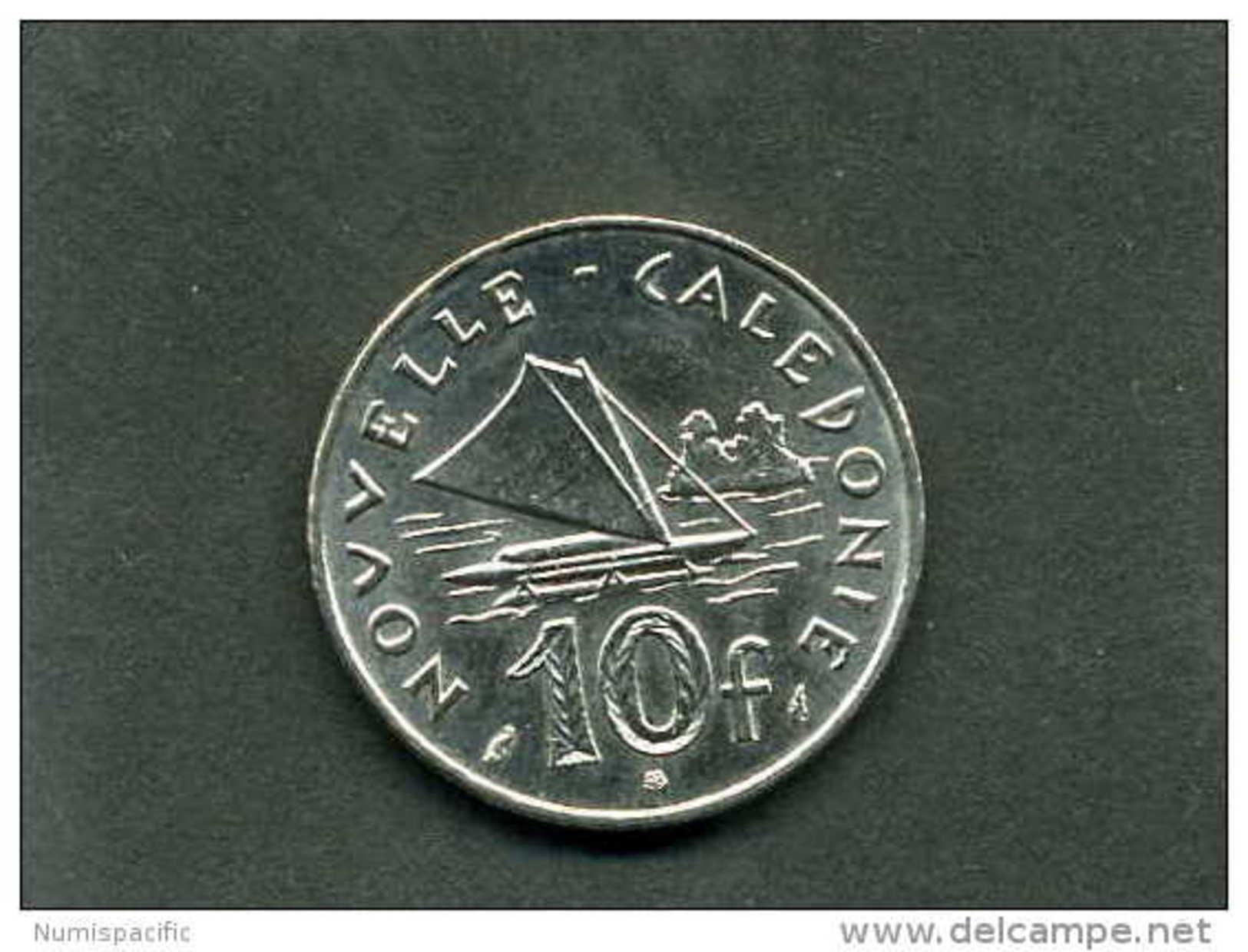 Pièce De 10 Francs De Nouvelle Calédonie Année 2012 !! - New Caledonia