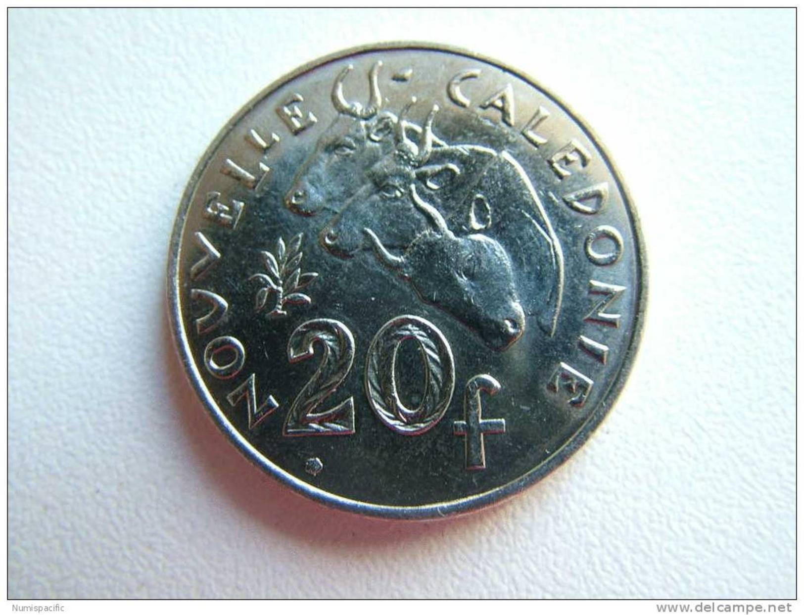 Pièce De 20 Francs De Nouvelle Calédonie Année 2010 - New Caledonia
