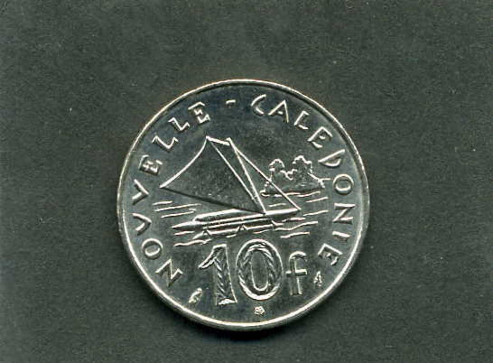 Pièce De 10 Francs De Nouvelle Calédonie Année 1986 - New Caledonia
