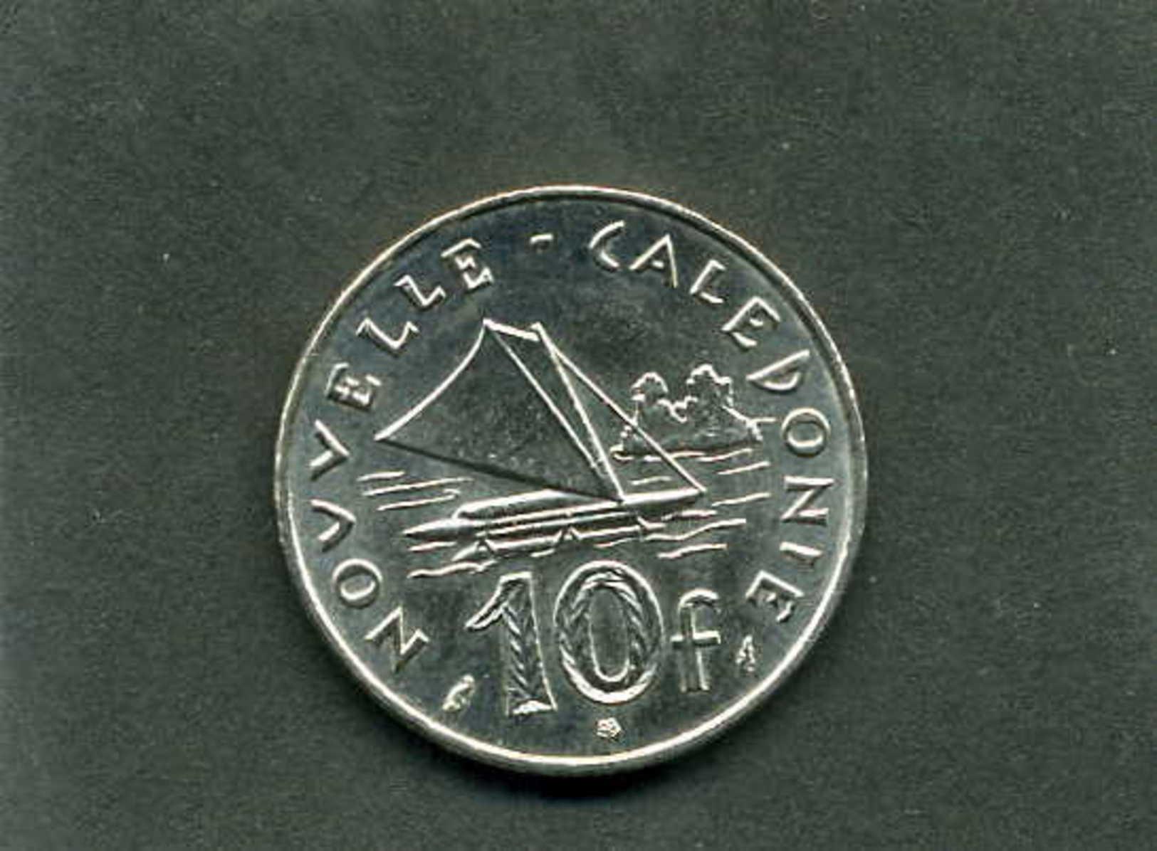 Pièce De 10 Francs De Nouvelle Calédonie Année 1977 - New Caledonia