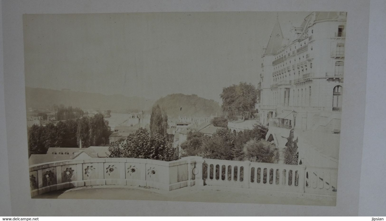 Souvenir De Pau Lot De 8 Grandes Photographies Originales Albuminées C 1870/80 Par Louis Lafon  ................. Z2 - Old (before 1900)