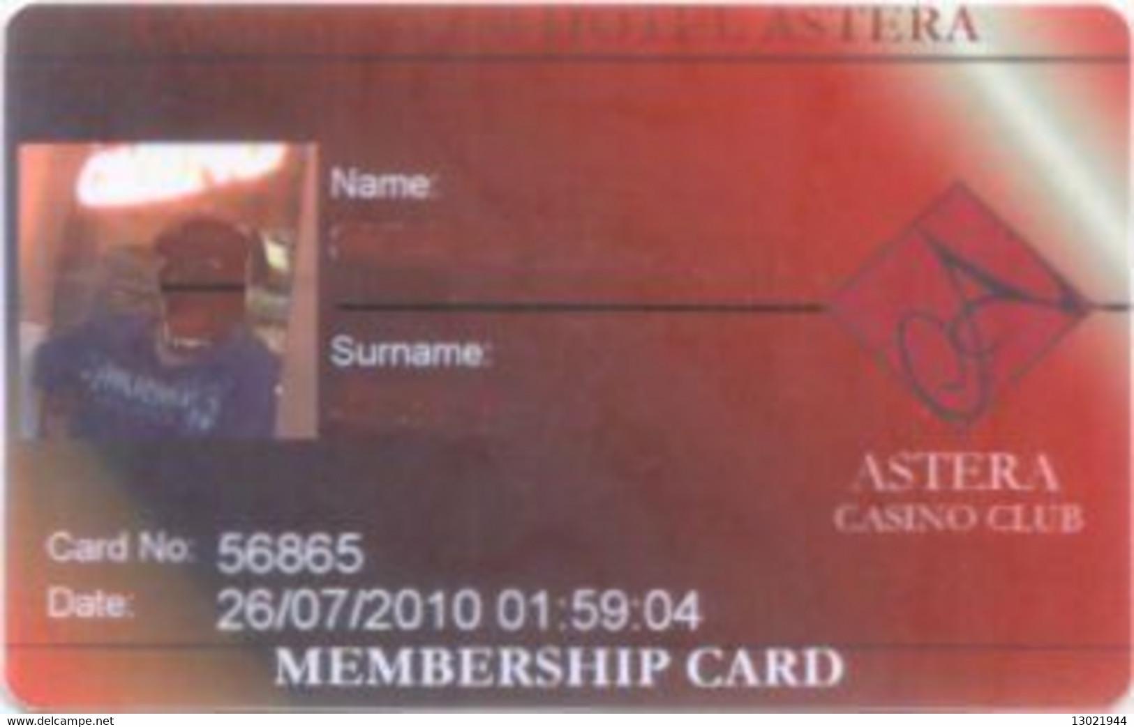 BULGARIA KEY CASINO     Astera  - Golden Sands - Casino Cards