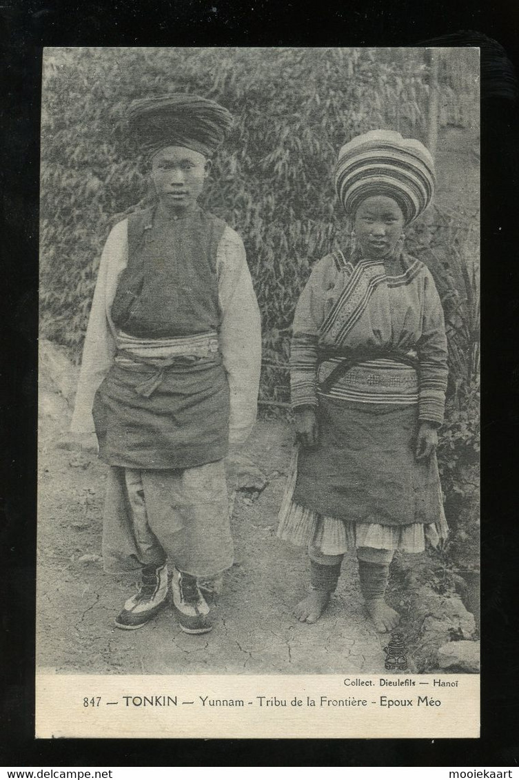 ± 1910  Yunnan Border Hill Tribe (C4-92) - Brunei