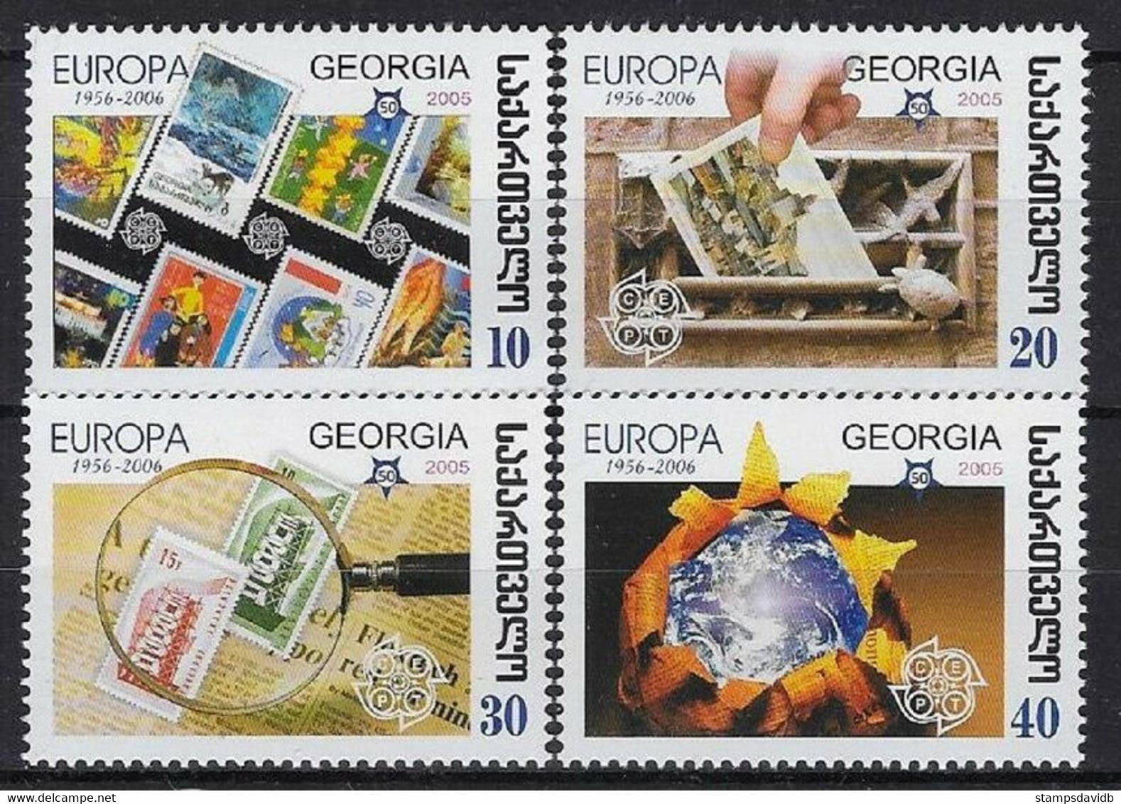 2006Georgia507-51050 Years Of The European Union 4,00 € - 2006