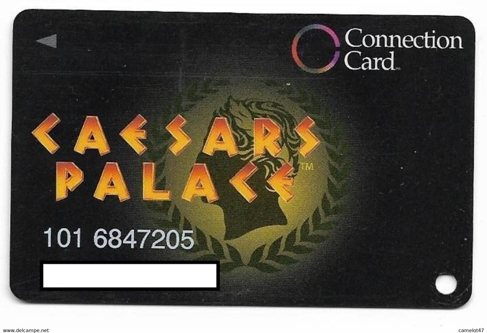Caesars Palace Casino, Las Vegas, Older Used Slot Or Player's Card,  # Caesars-1 - Casino Cards