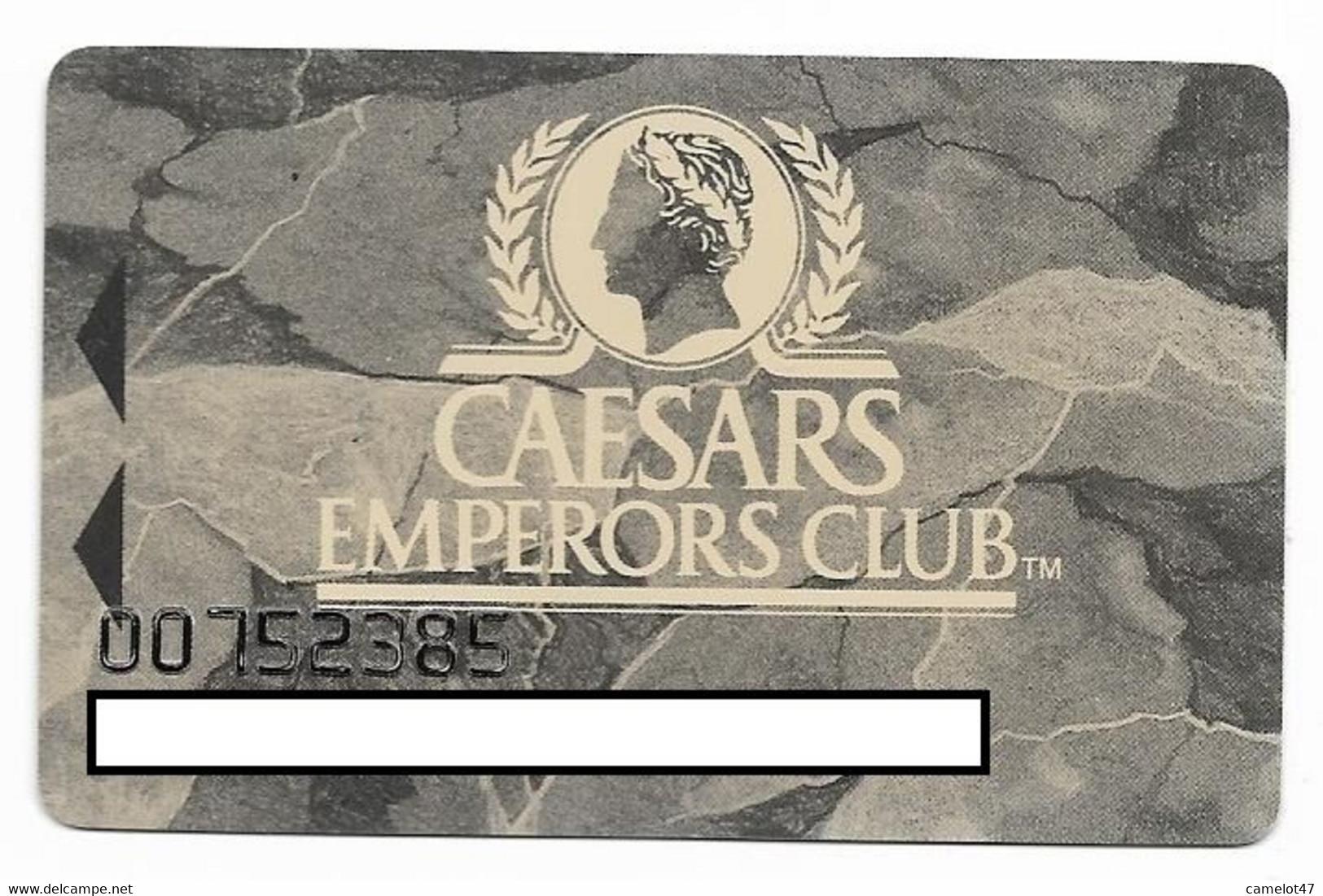Caesars Palace Casino,Las Vegas, Older Used Slot Or Player's Card, # Caesars-3 - Casino Cards