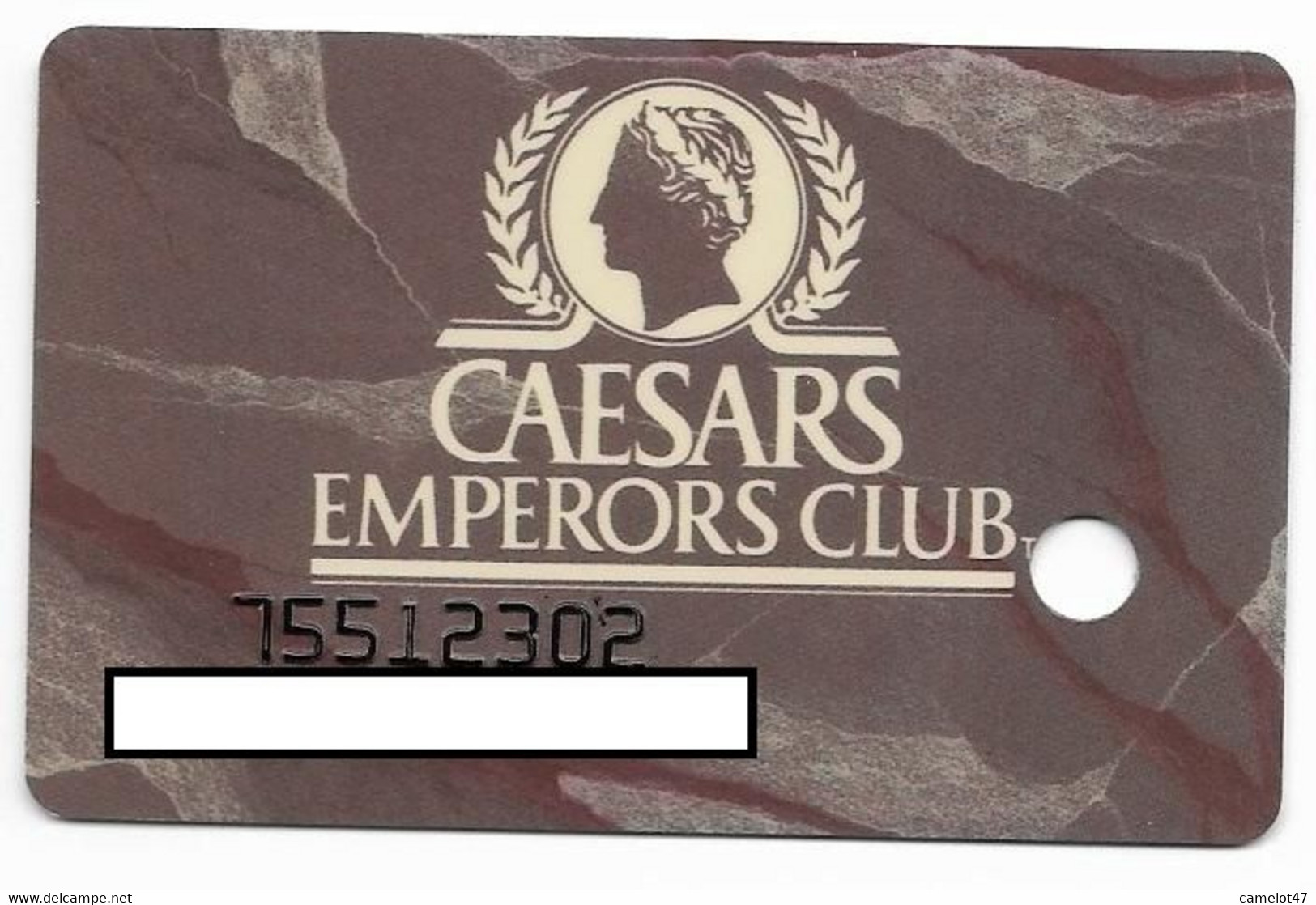 Caesars Palace Casino,Las Vegas, Older Used Slot Or Player's Card, # Caesars-4 - Casino Cards