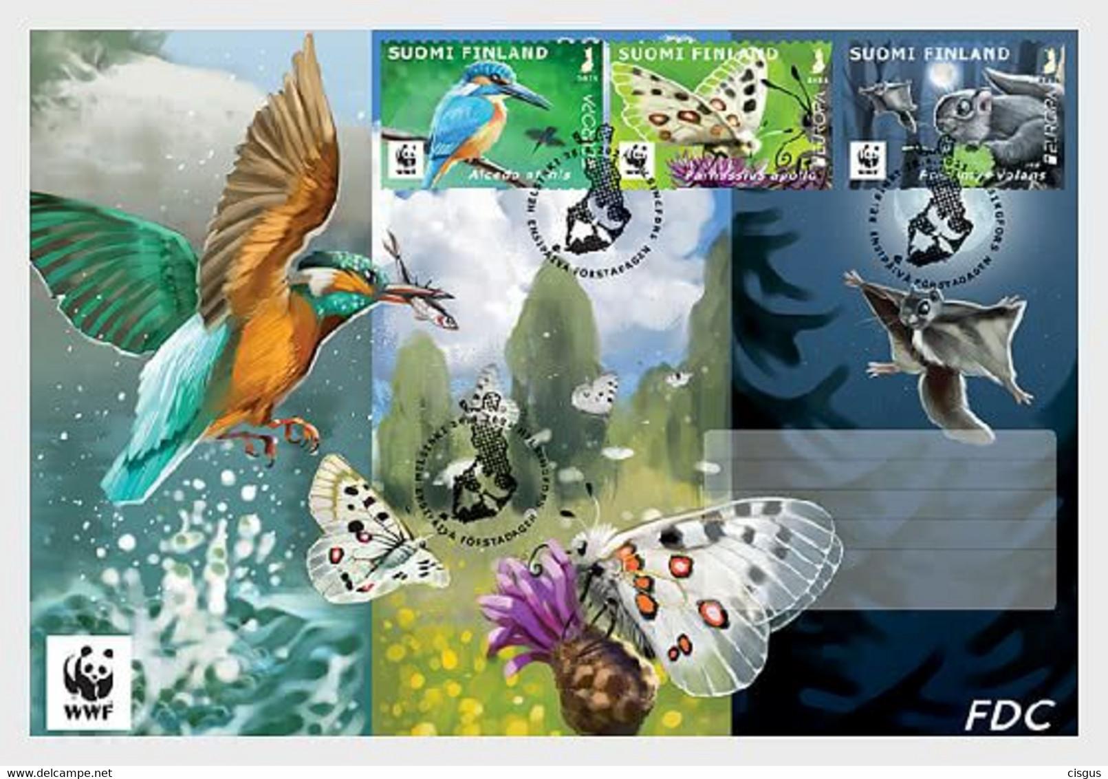 Finnlnd MNH ** 2021  Europa 2021 - Endangered Species WWF FDC - Nuovi