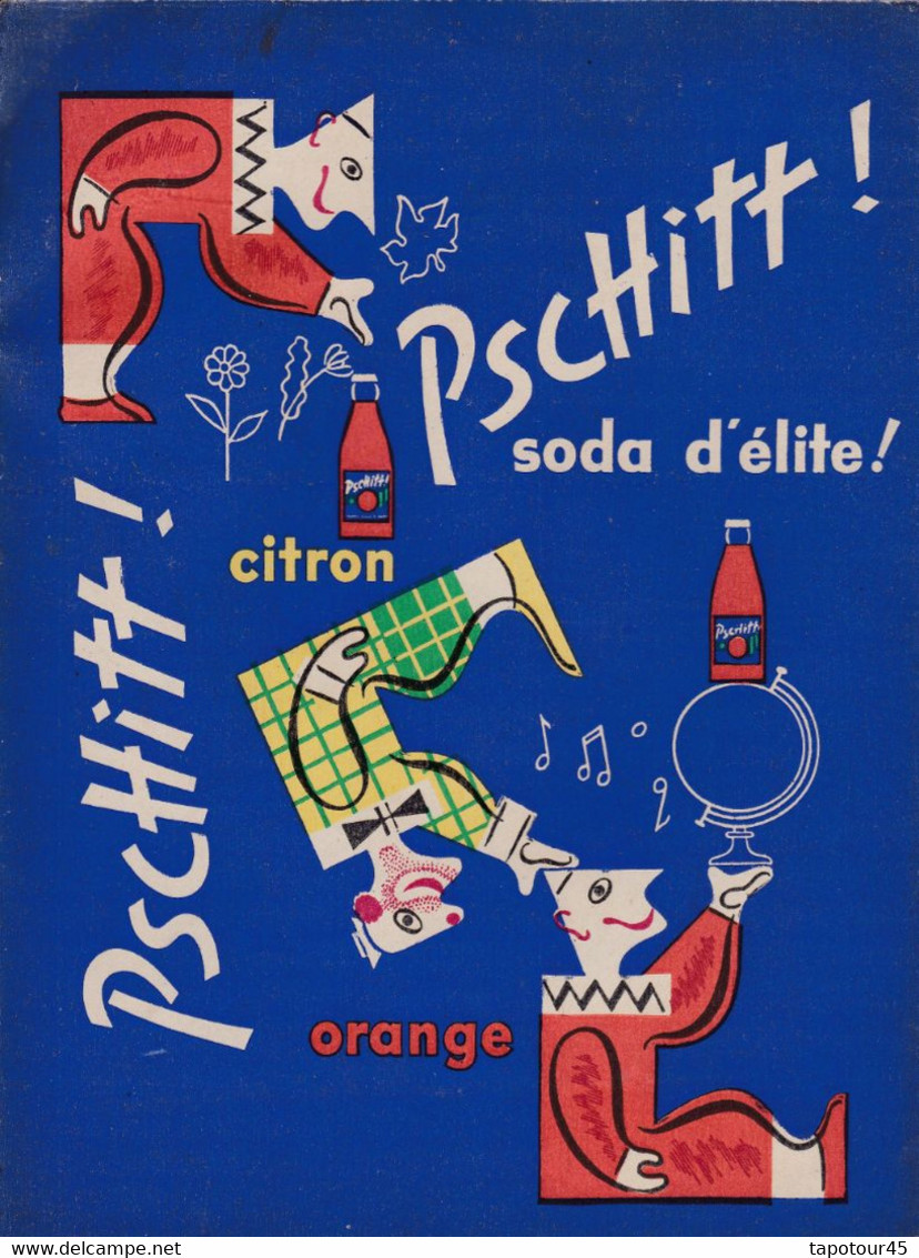 S P/ Protèges Cahiers Soda D'Elite Pschitt (N° 1) - Book Covers