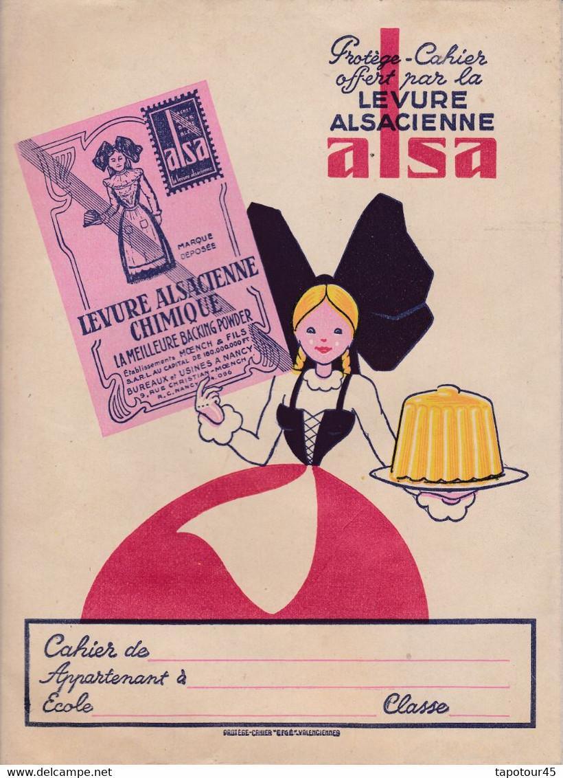 "L A/Protège-Cahiers Levure ""Alsa"" (N=2) - Book Covers"