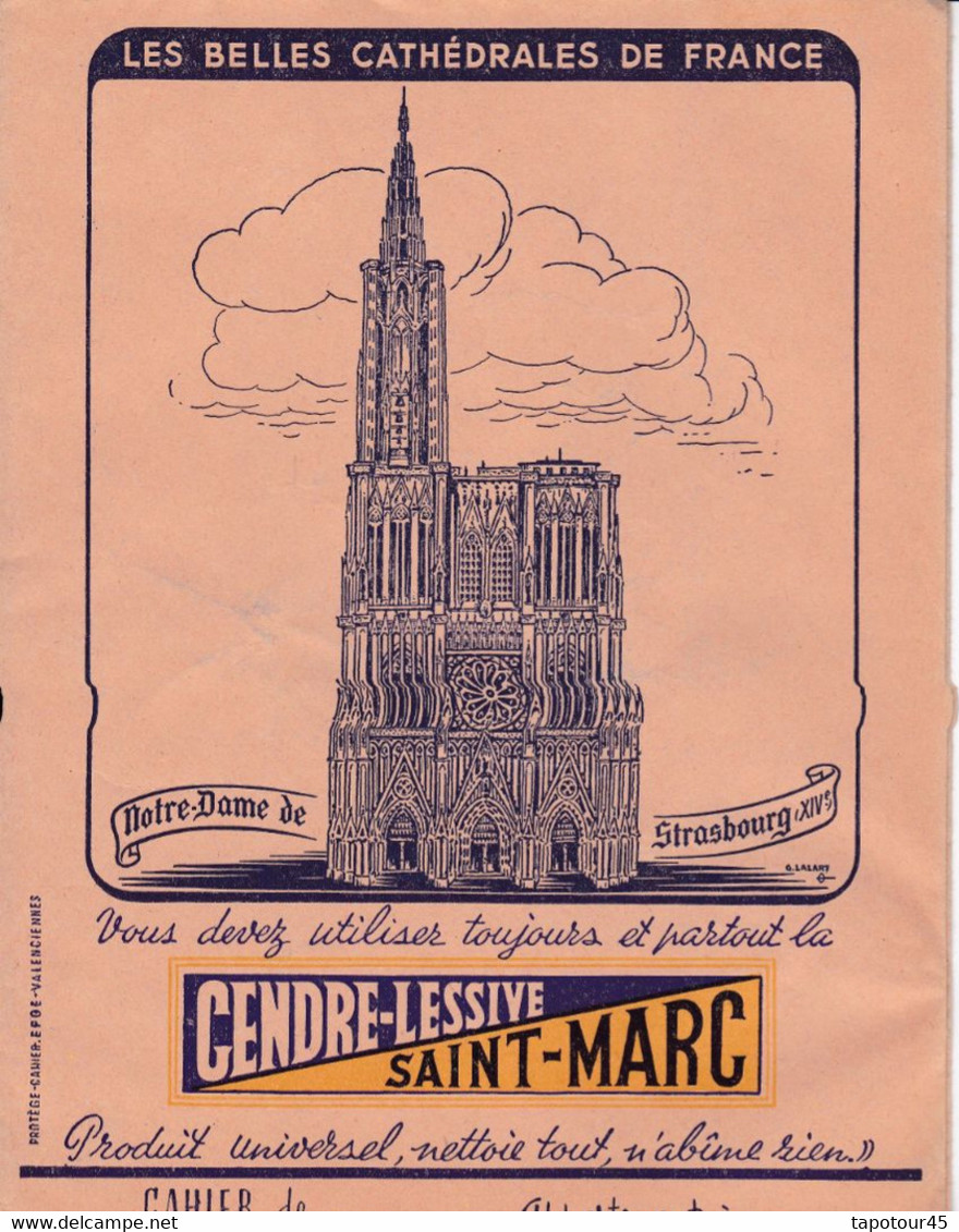 "L SM/ Protège-Cahiers Lessive ""Saint Marc""   (N° 1) - Book Covers"