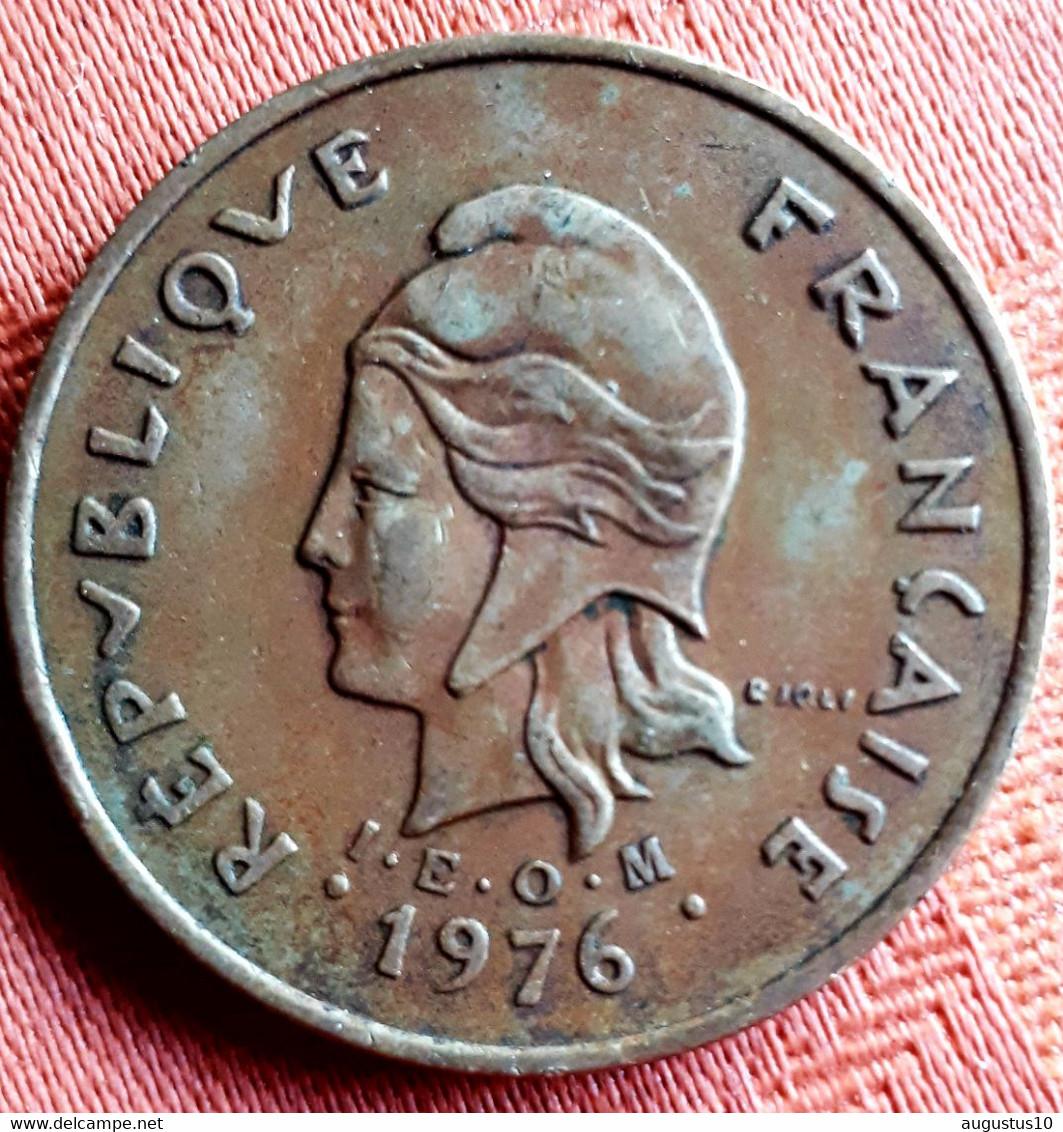 FRANS NEW CALEDONIA :100 Francs 1976 KM  15 - New Caledonia