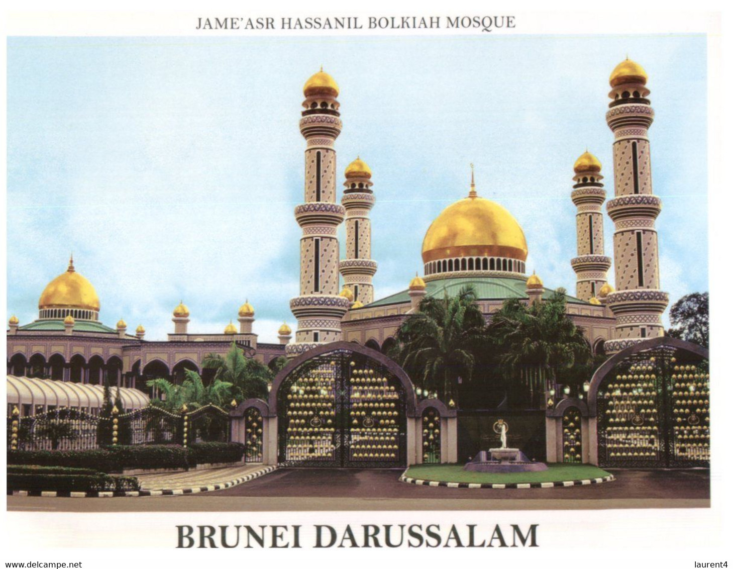 (OO 28) Brunei  Darussasalam - Jam'ash Hassanil Bolkiah Mosque - Brunei