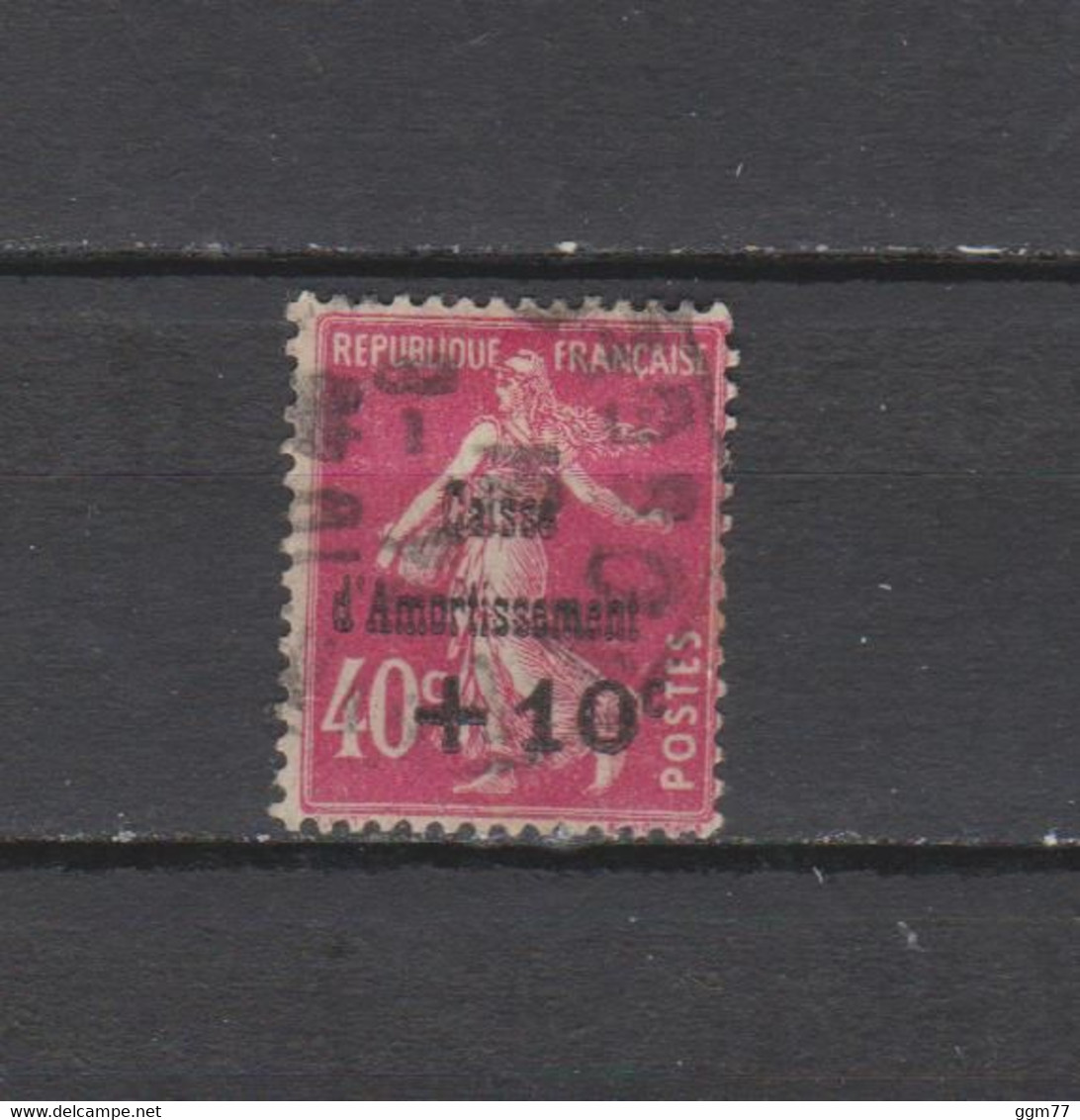 FRANCE N° 266  TIMBRE OBLITERE  DE 1930   Cote : 25 € - Sinking Fund