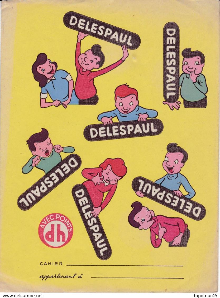 "C D /Buvard Carambar ""Delespaul""   (N= 1) - Book Covers"