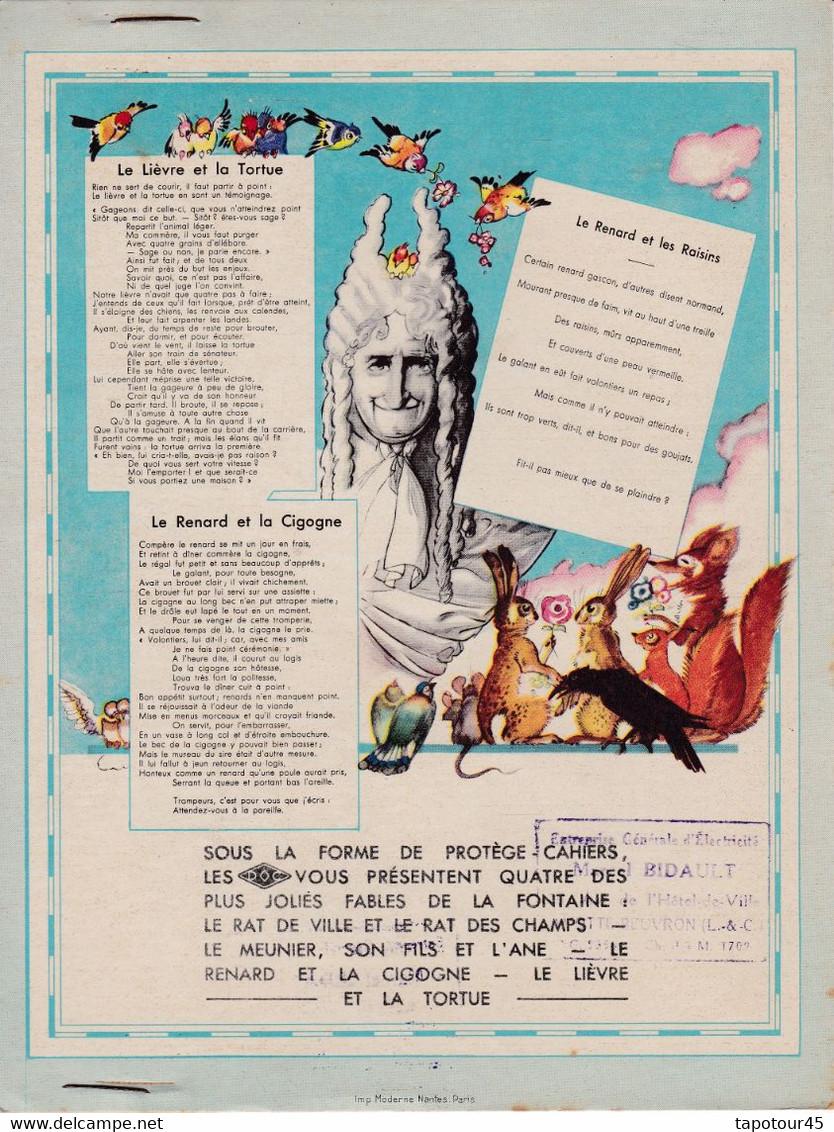 "M A /Protège-Cahiers Madeleine  ""Alsacienne"" (N=2) - Book Covers"
