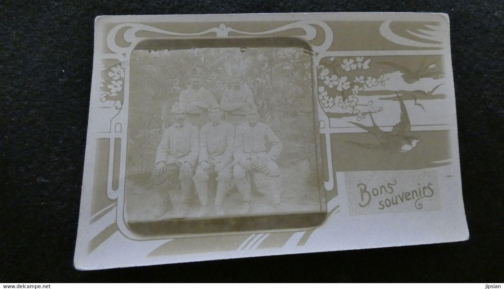 Lot De 100 Cpa Carte Photo Militaire Soldat  Régiment Toutes Photographiées   Lot N°2  Z2 - Regiments