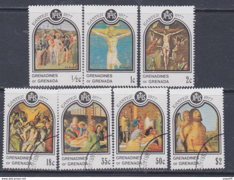 Grenadines N° 198 / 204 XX  Pâques Les 7 Valeurs Sans Charnière, TB - America (Other)