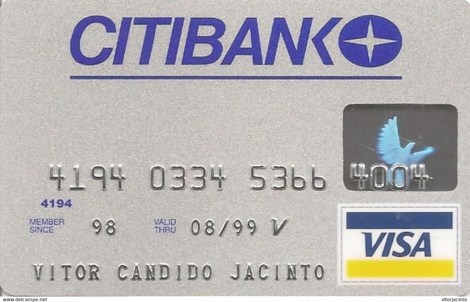 Geldkarten (Ablauf min. 9 Jahre) - PORTUGAL - CITIBANK - Visa