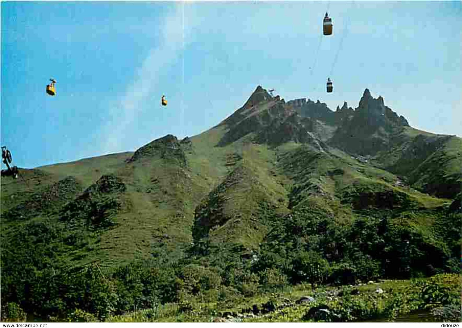 63 - Le Sancy - Massif Du Mont Dore - Les Cabines Des Deux Téléphérique Se Croisent Au Dessus Des Gorges D'Enfer - CPM - - Other Municipalities