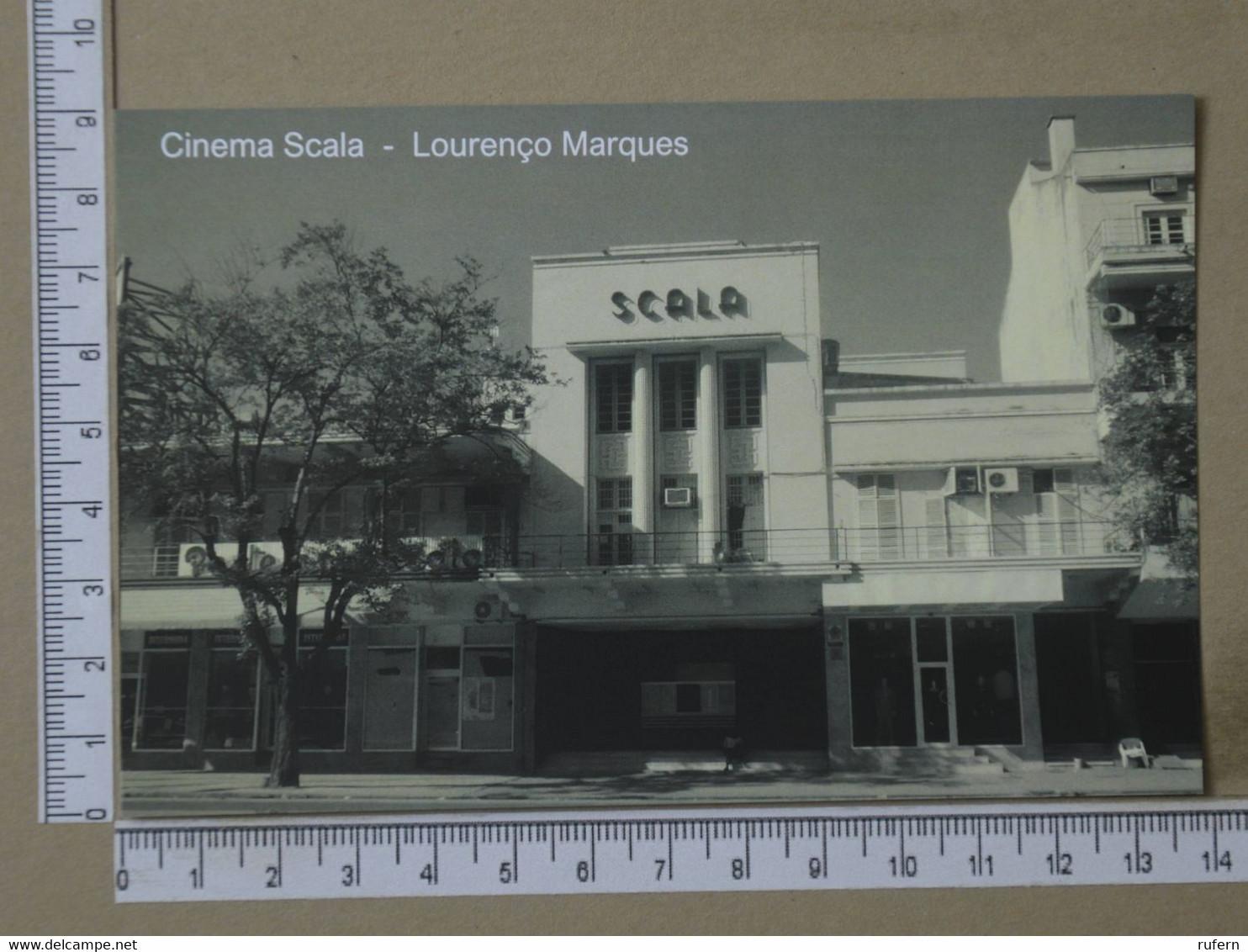 MOZAMBIQUE - CINEMA SCALA -  LOURENÇO MARQUES -   2 SCANS  - (Nº42578) - Mozambique