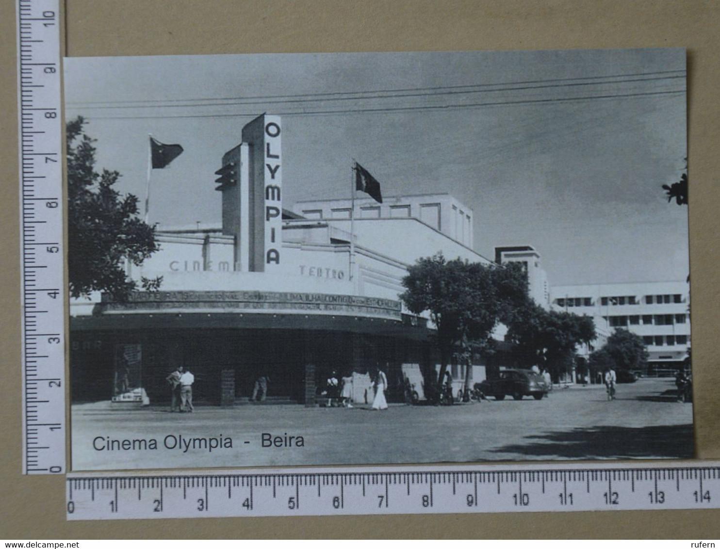 MOZAMBIQUE - CINEMA OLYMPIA -  BEIRA -   2 SCANS  - (Nº42581) - Mozambique