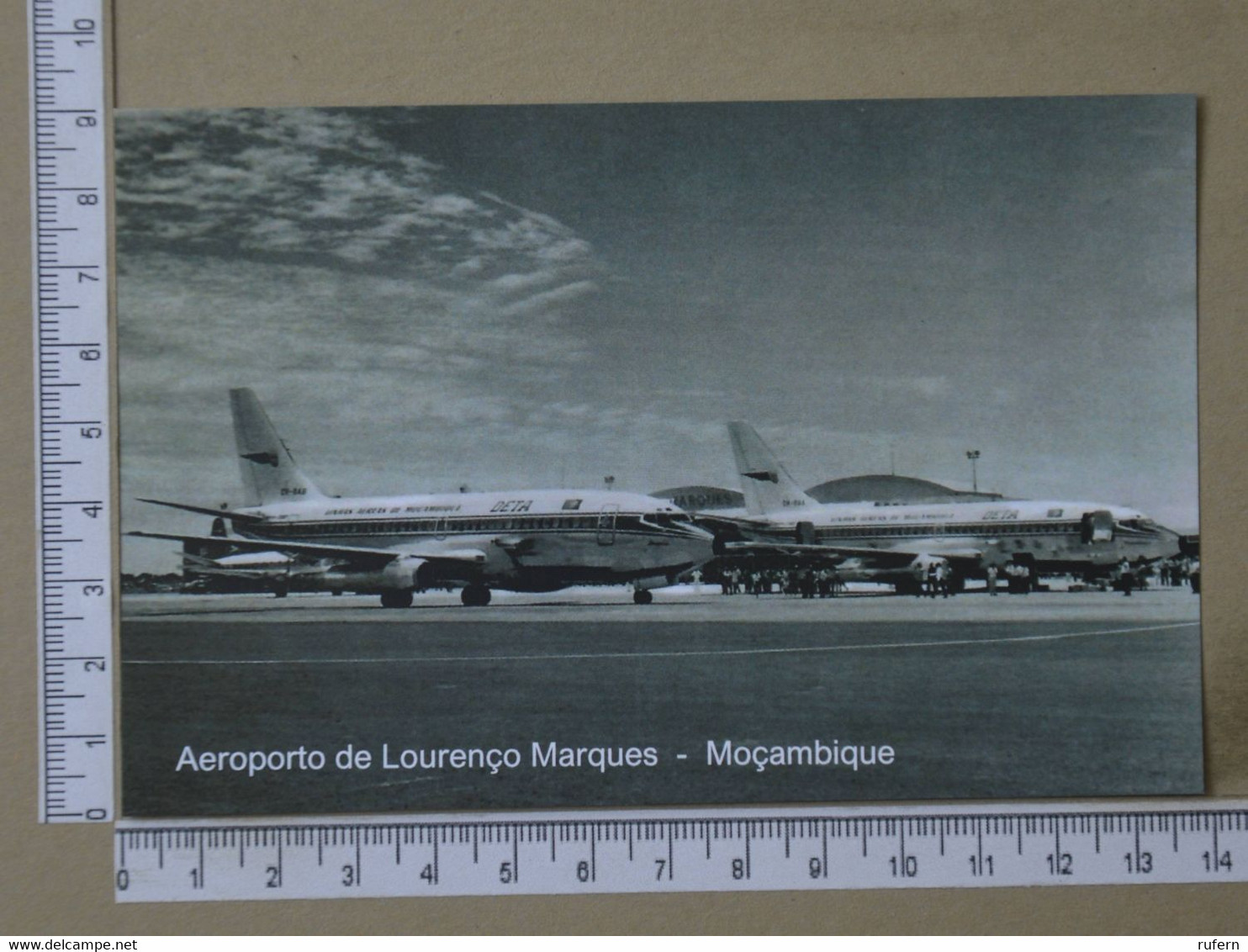 MOZAMBIQUE - AEROPORTO -  LOURENÇO MARQUES -   2 SCANS  - (Nº42584) - Mozambique