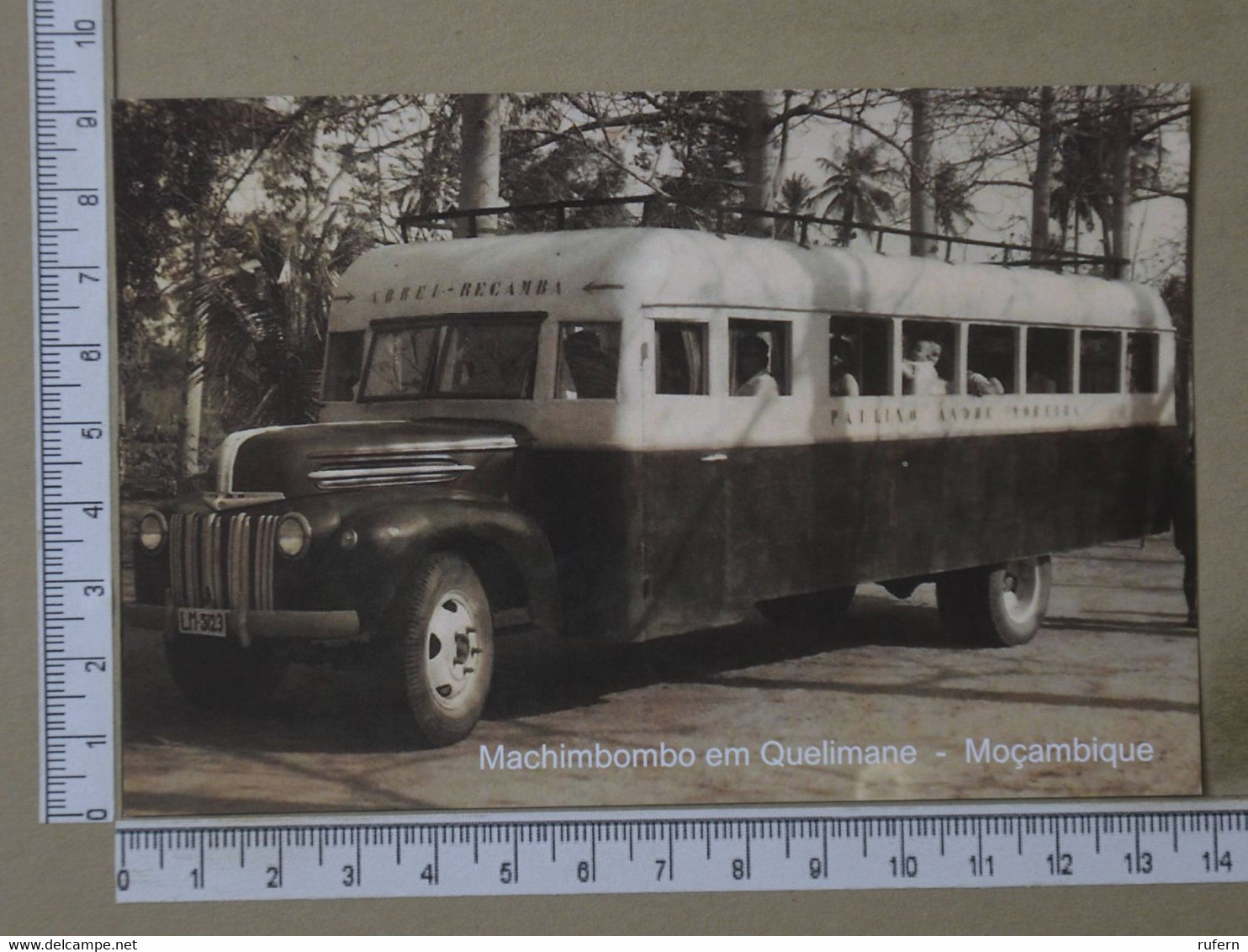 MOZAMBIQUE - MACHIMBOMBO -  QUELIMANE -   2 SCANS  - (Nº42586) - Mozambique