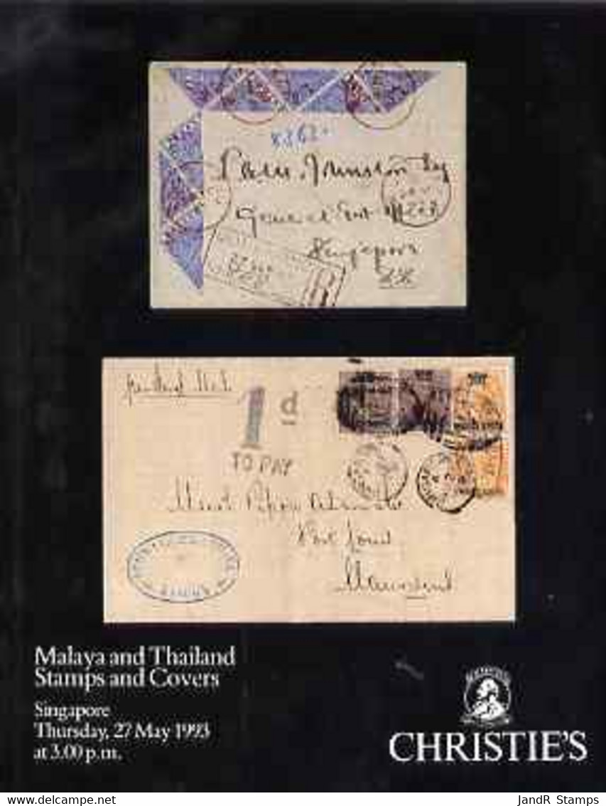 Auction Catalogue - Malaya & Thailand - Christie's 27 May 1993 - Cat Only - Other