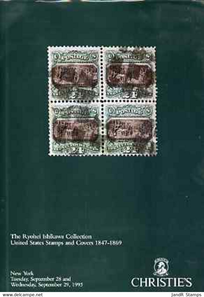 Auction Catalogue - United States - Christie's 28-29 Sept 1993 Ryohei Ishikawa Coll Hardback Catalogue Colour - Other