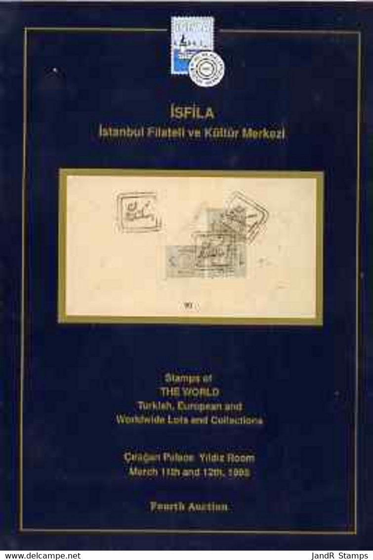 Auction Catalogue - Worldwide & Turkey - Isfila 11-12 Mar 1995 - Cat Only - Other