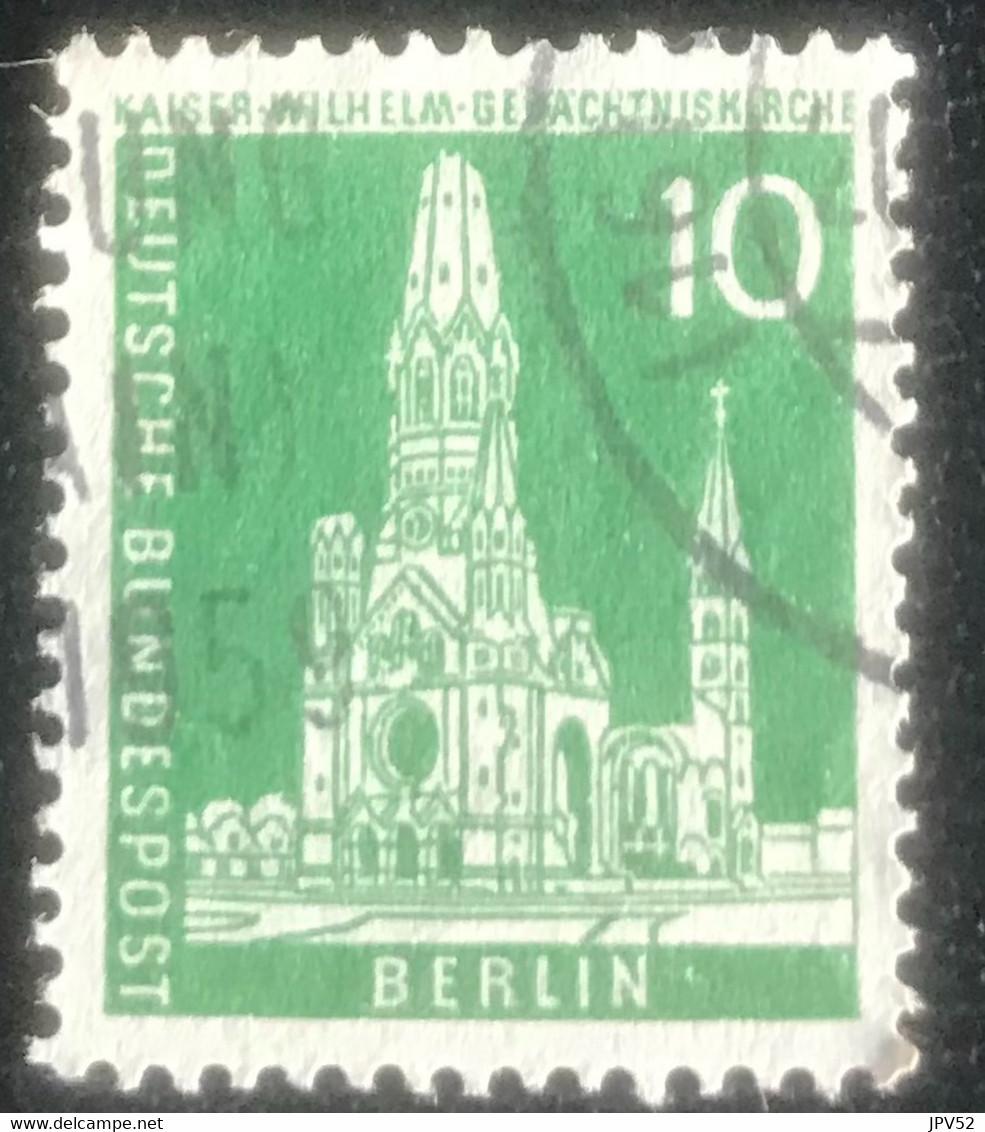 Deutsche Bundespost - Berlin -  A1/32 - (°)used - 1956 - Michel 144WV - Gebouwen In Berlijn - Oblitérés