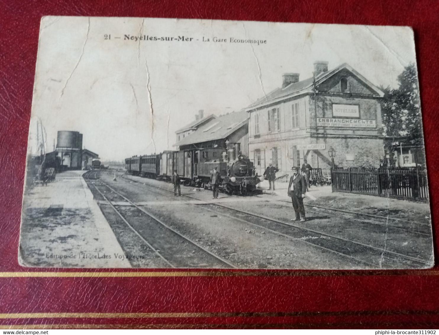 H2: La Gare économique - Noyelles-sur-Mer