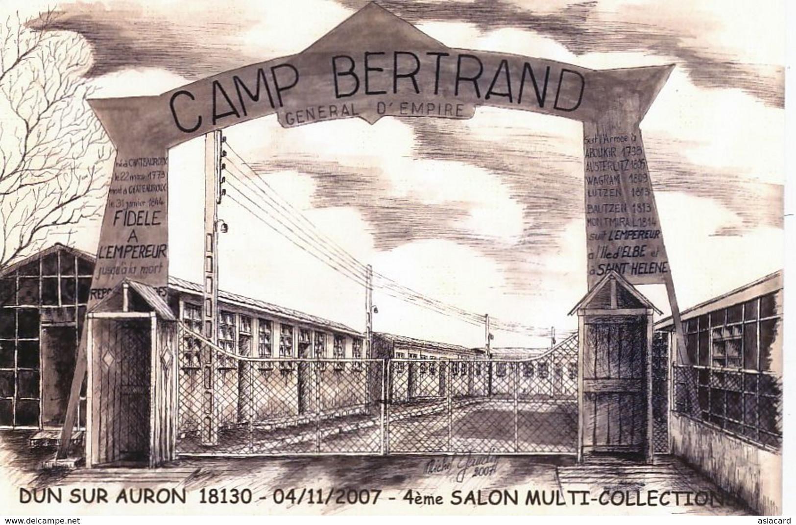 CP Semi Moderne Camp Bertrand Né Chateauroux  Napoleon 1er Elbe Sainte Hélène  Lutzen Bautzen Aboukir - Saint Helena Island