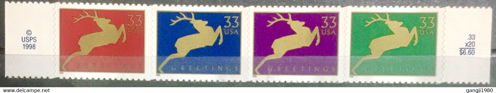 USA 1999 MNH STAMP ON GREETINGS BOOKLET PANE STAMP - America (Other)