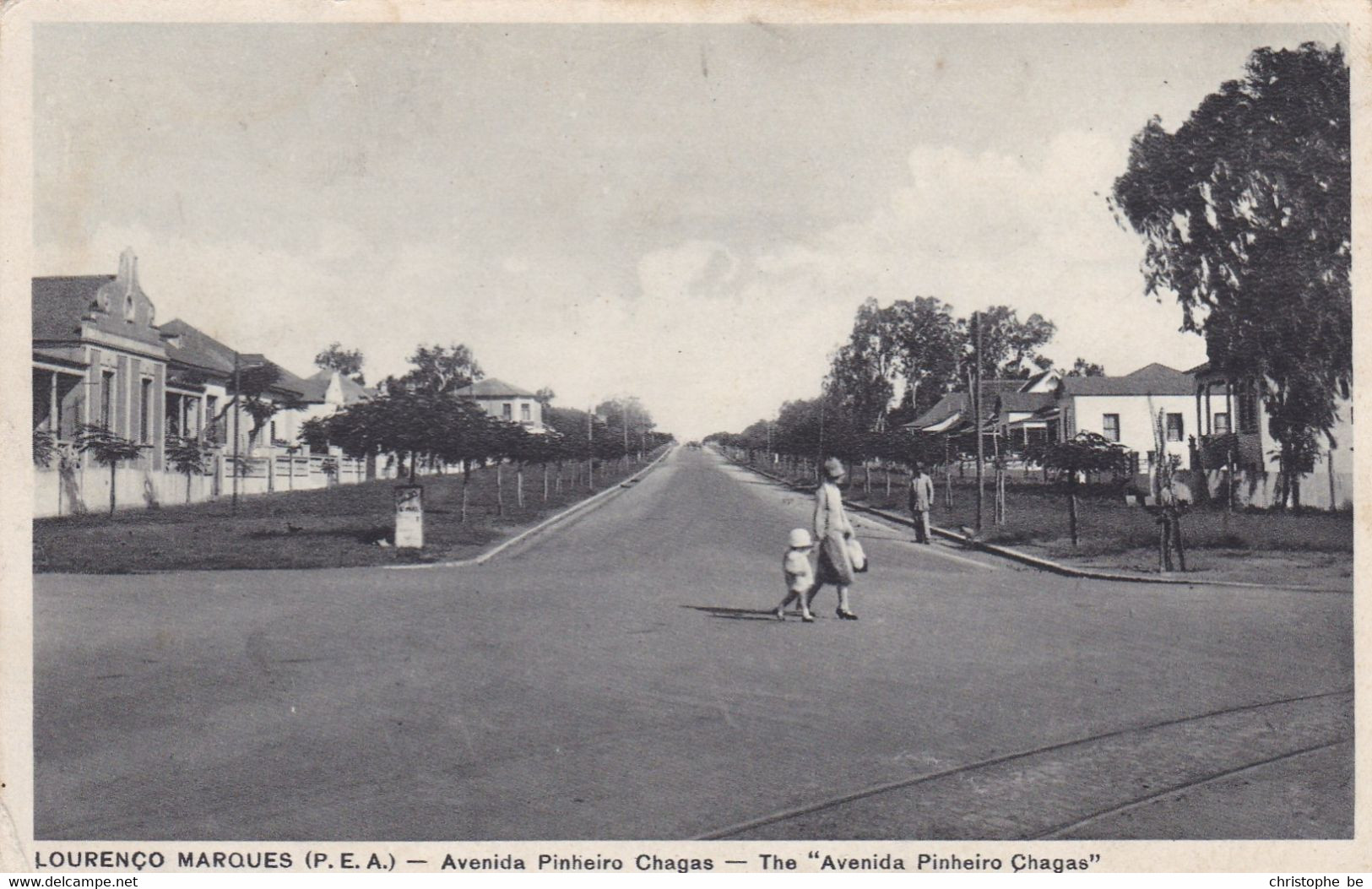 Lourenço, Marques, P.E.A. Avenida Pintiero Chagas (pk80298) - Mozambique