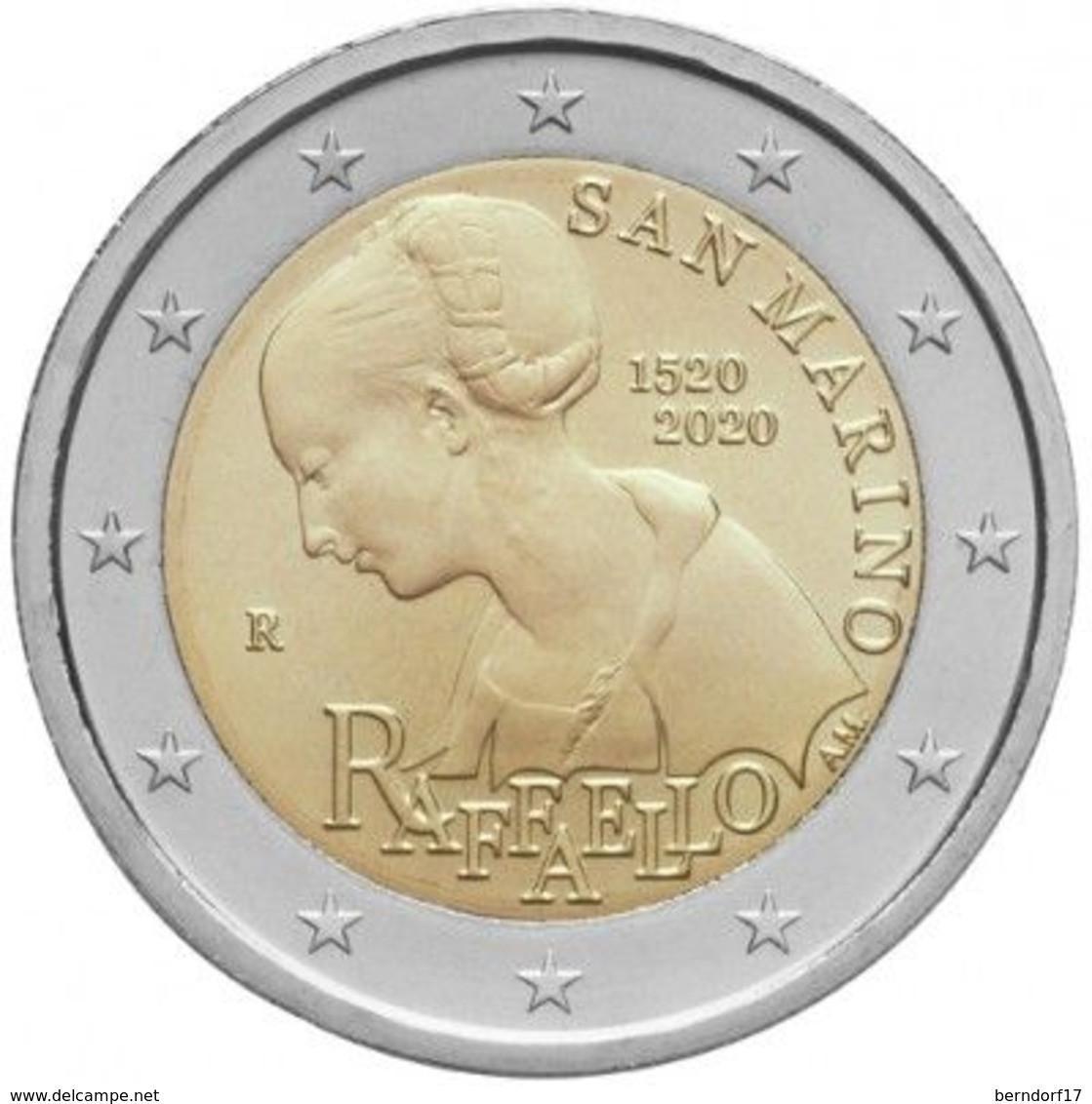 San Marino 2020 - 2 Euro – Raffaello - San Marino