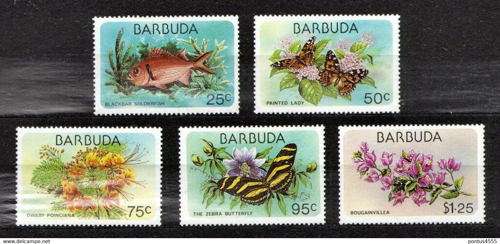 Barbuda 1978 Mi 425-429; SC 170-173 - MNH - America (Other)